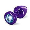 Diogol - Anni Butt Plug Round Purple & Blue 25 mm Sexshop Eroware -  Sexartikelen