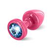 Diogol - Anni Butt Plug Round Pink & Blue 25 mm Sexshop Eroware -  Sexartikelen