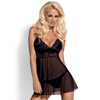 Obsessive - Amarone Babydoll & Thong S/M Sexshop Eroware -  Sexspeeltjes