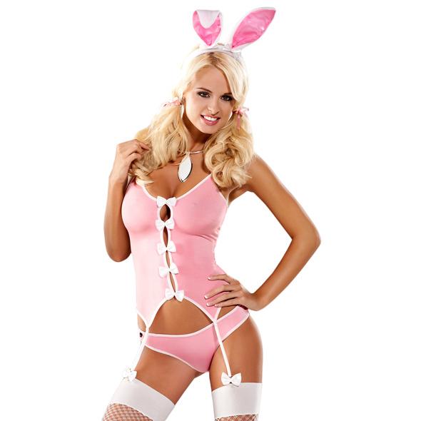 Bunny Suit 4 pcs Costume image