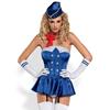 Obsessive - Stewardess Corset Costume L/XL Sexshop Eroware -  Sexartikelen