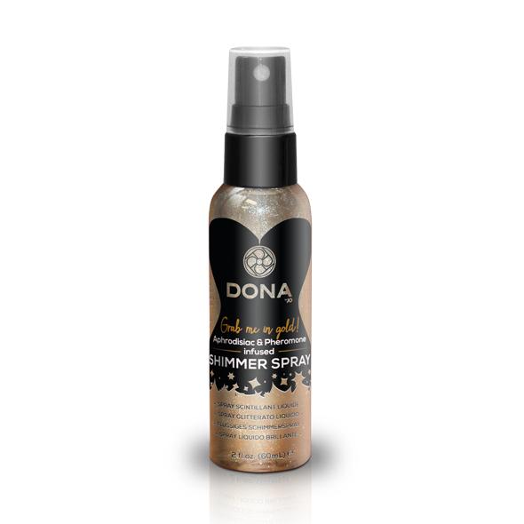 Dona - Shimmer Spray Goud 60 ml  Online Sexshop Eroware Sexshop Sexspeeltjes