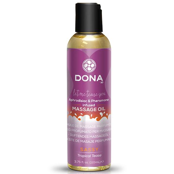 Dona - Scented Massage Oil Tropical Tease 125 ml Online Sexshop Eroware Sexshop Sexspeeltjes