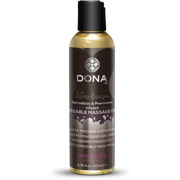 Dona - Kissable Massage Oil Chocolate Mousse 125 m Online Sexshop Eroware Sexshop Sexspeeltjes