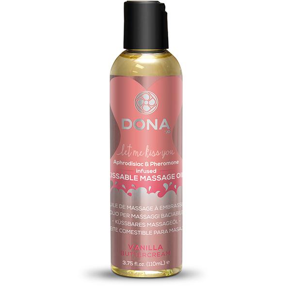 Dona - Kissable Massage Olie Vanille Botercreme 110 ml Online Sexshop Eroware Sexshop Sexspeeltjes