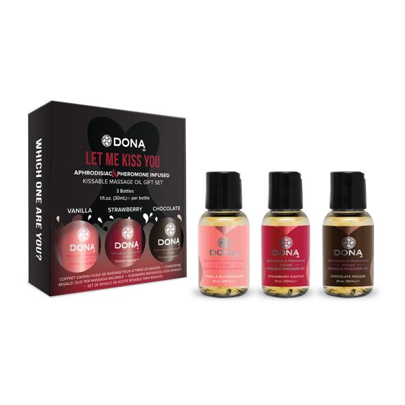 Dona - Massage Gift Set Flavored (3 x 30 ml) Online Sexshop Eroware Sexshop Sexspeeltjes