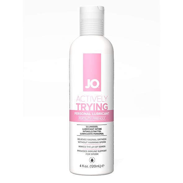System JO - Actively Trying (TTC) Original Glijmiddel 120 ml Online Sexshop Eroware Sexshop Sexspeeltjes