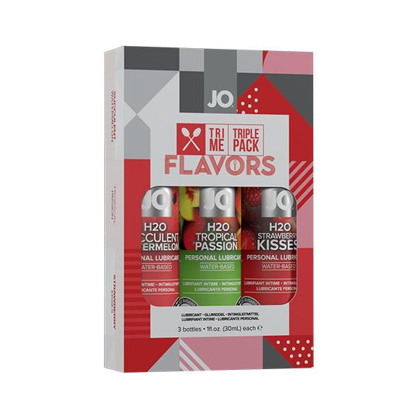 System JO - Tri Me Triple Pack Flavors Online Sexshop Eroware Sexshop Sexspeeltjes