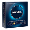 My Size - Natural Latex Condom 53 Width 3 pcs Sexshop Eroware -  Sexartikelen