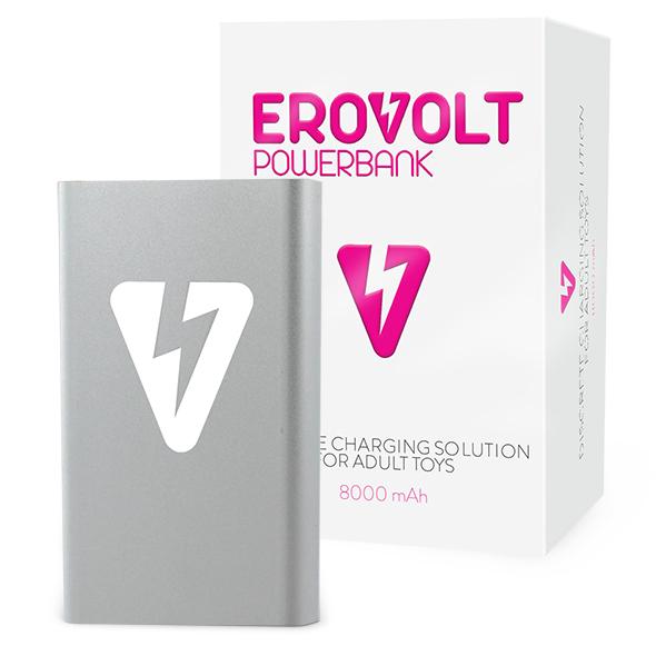 EroVolt PowerBank - Zilver Online Sexshop Eroware Sexshop Sexspeeltjes