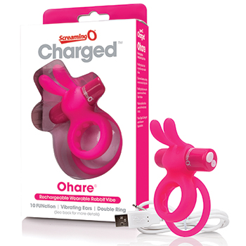 The Screaming O - Charged Ohare Rabbit Vibe Pink