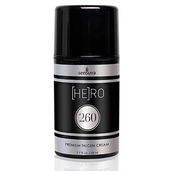 Sensuva - HE(RO) 260 Talcum Cream For Men 50 ml Online Sexshop Eroware Sexshop Sexspeeltjes