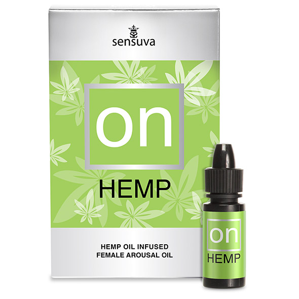 Sensuva - ON Arousal Oil for Her Hemp Oil Infused 5 ml Online Sexshop Eroware Sexshop Sexspeeltjes