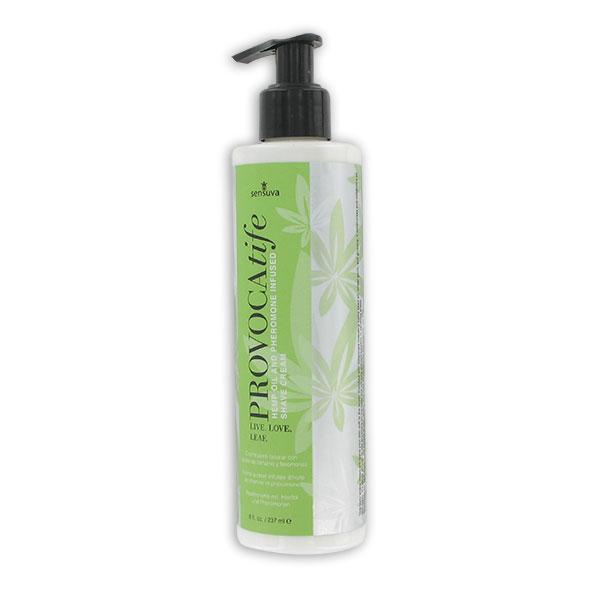 Sensuva - Provocatife Cannabis Oil & Pheromone Infused Shave Cream 240 ml Online Sexshop Eroware Sexshop Sexspeeltjes