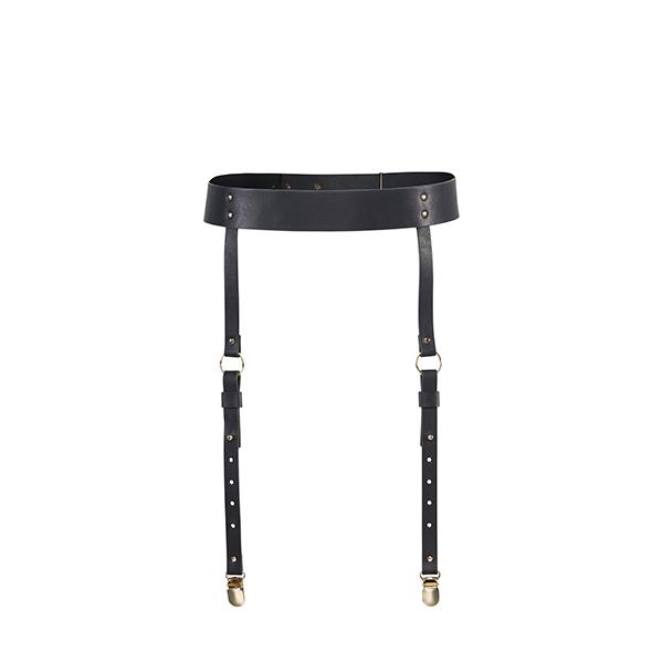 Bijoux Indiscrets - Maze Suspender Belt Zwart Online Sexshop Eroware Sexshop Sexspeeltjes