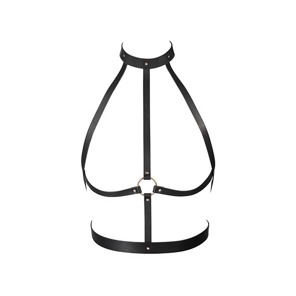 Bijoux Indiscrets - Maze H Harness Zwart Online Sexshop Eroware Sexshop Sexspeeltjes