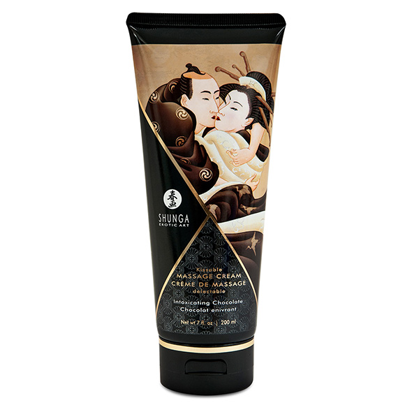 Shunga - Massage Cream Chocolate 200 ml Online Sexshop Eroware Sexshop Sexspeeltjes
