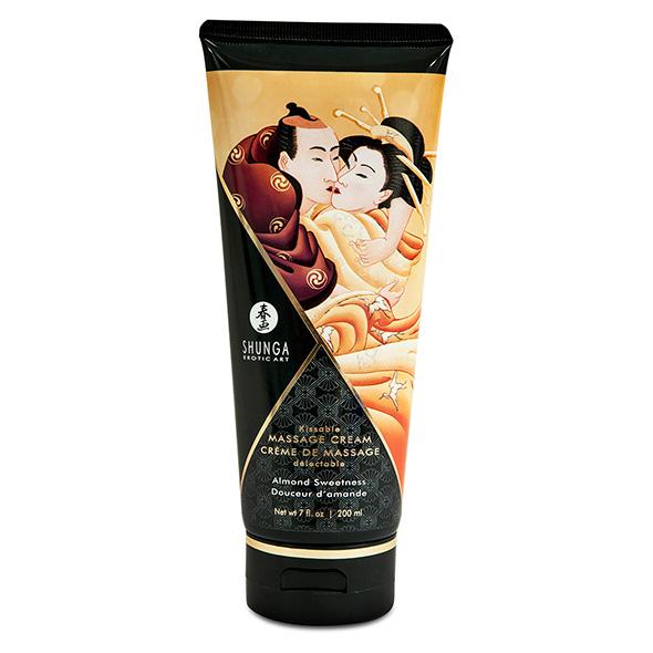 Shunga - Massage Cream Amandel 200 ml Online Sexshop Eroware Sexshop Sexspeeltjes