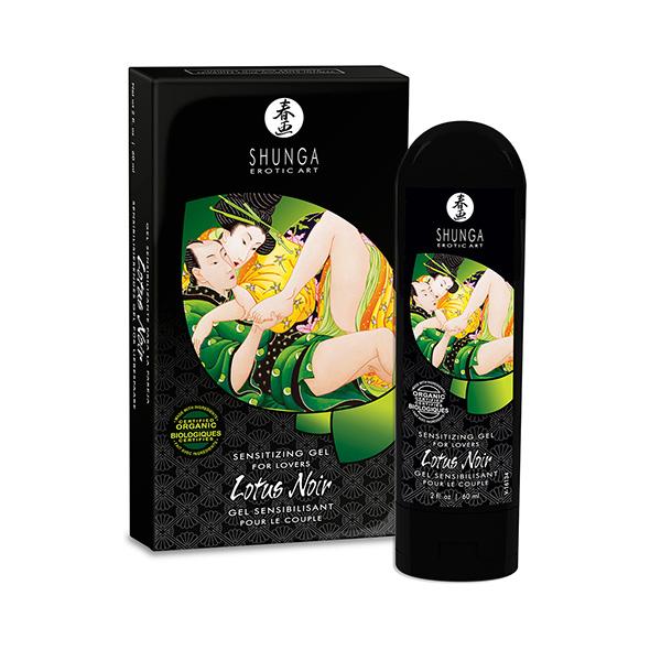Shunga - Lotus Noir Sensitizing Gel Online Sexshop Eroware Sexshop Sexspeeltjes