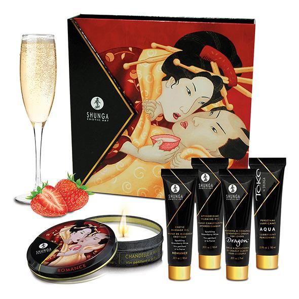 Shunga - Geisha Sparkling Strawberry Wine Online Sexshop Eroware Sexshop Sexspeeltjes