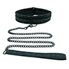 Sportsheets - Midnight Lace Collar and Leash Sexshop Eroware -  Sexartikelen