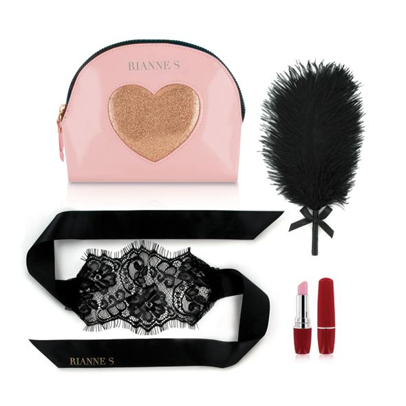 RS - Essentials - Kit d'Amour Roze/Goud Online Sexshop Eroware Sexshop Sexspeeltjes