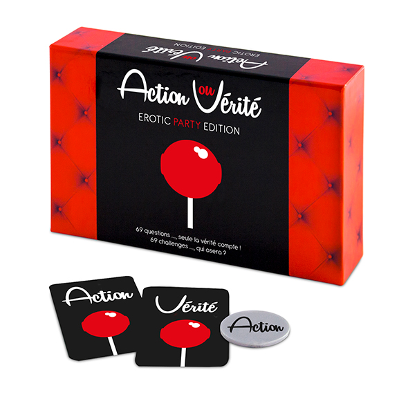 Action ou Verite Erotic Party Edition (FR) Online Sexshop Eroware Sexshop Sexspeeltjes