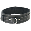 Sportsheets - Edge Lined Leather Collar Sexshop Eroware -  Sexspeeltjes