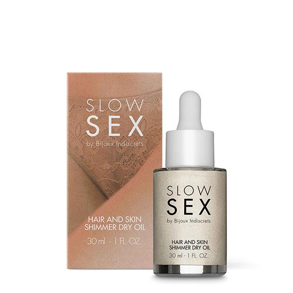 Bijoux Indiscrets - Slow Sex Hair & Skin Shimmer Dry Oil Online Sexshop Eroware Sexshop Sexspeeltjes