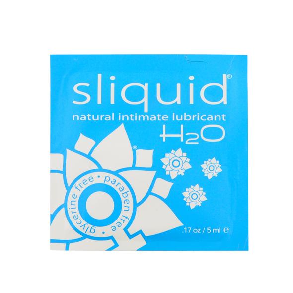 Sliquid - Naturals H2O Glijmiddel Pillow 5 ml Online Sexshop Eroware Sexshop Sexspeeltjes