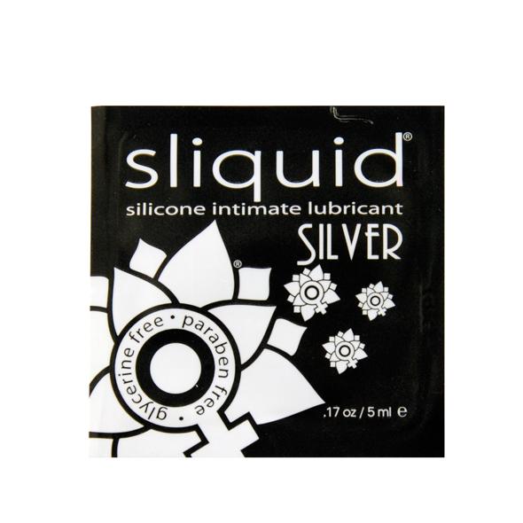 Sliquid - Naturals Silver Glijmiddel Pillow 5 ml Online Sexshop Eroware Sexshop Sexspeeltjes