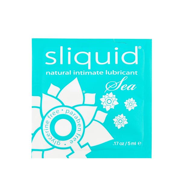 Sliquid - Naturals Sea Lubricant Pillow 5 ml Online Sexshop Eroware Sexshop Sexspeeltjes