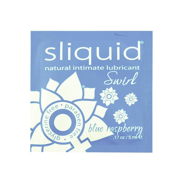 Sliquid - Naturals Swirl Glijmiddel Blauwe Framboos Pillow 5 ml Online Sexshop Eroware Sexshop Sexspeeltjes
