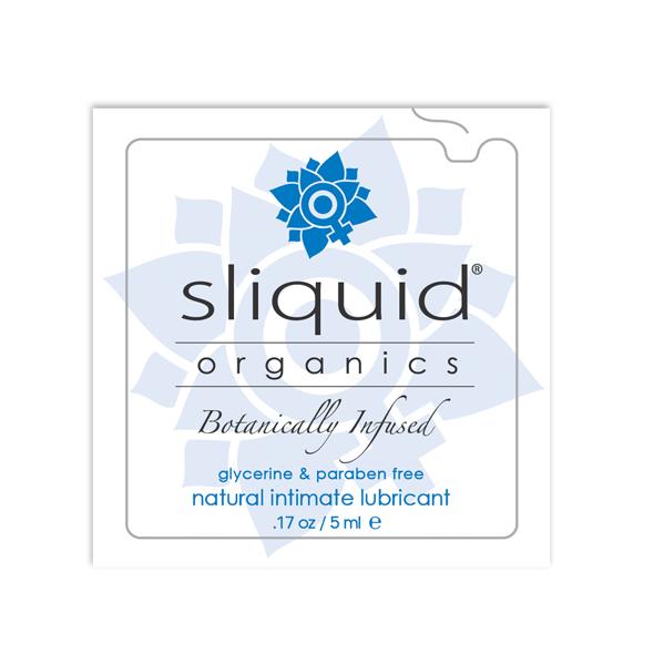Sliquid - Organics Natural Glijmiddel Pillow 5 ml Online Sexshop Eroware Sexshop Sexspeeltjes