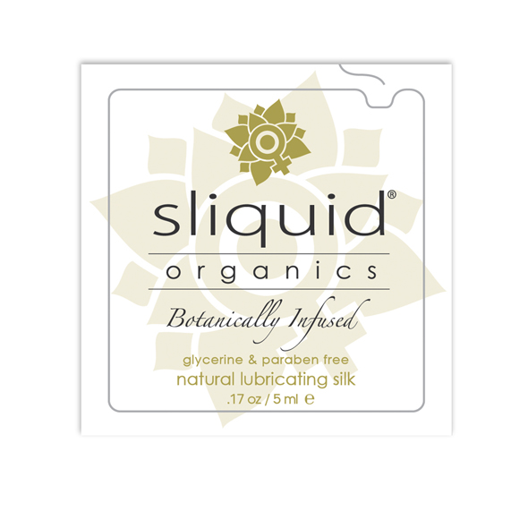 Sliquid - Organics Silk Glijmiddel Pillow 5 ml Online Sexshop Eroware Sexshop Sexspeeltjes