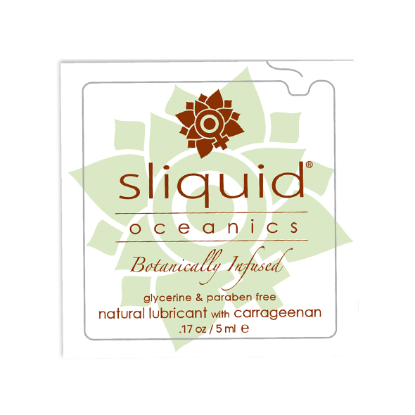Sliquid - Organics Oceanics Lubricant Pillow 5 ml Online Sexshop Eroware Sexshop Sexspeeltjes