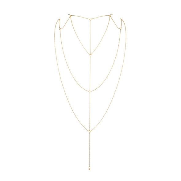 Bijoux Indiscrets - Magnifique Rug & Decollete Ketting Goud Online Sexshop Eroware Sexshop Sexspeeltjes