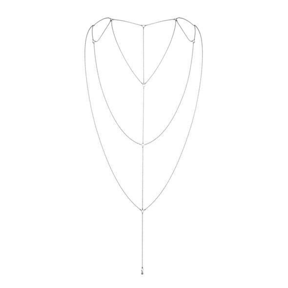 Bijoux Indiscrets - Magnifique Rug & Decollete Ketting Zilver Online Sexshop Eroware Sexshop Sexspeeltjes