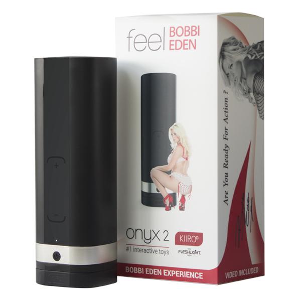 Kiiroo - Onyx 2 Teledildonic Masturbator Bobbi Eden Online Sexshop Eroware Sexshop Sexspeeltjes