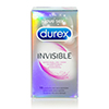 Durex - Invisible Extra Lubricated Condoms 10 pcs Sexshop Eroware -  Sexartikelen