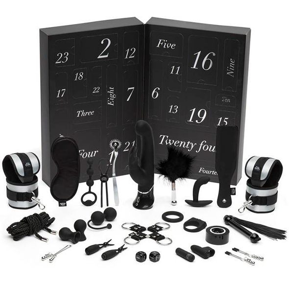 Fifty Shades of Grey - 24 Days Countdown Kalender Online Sexshop Eroware Sexshop Sexspeeltjes