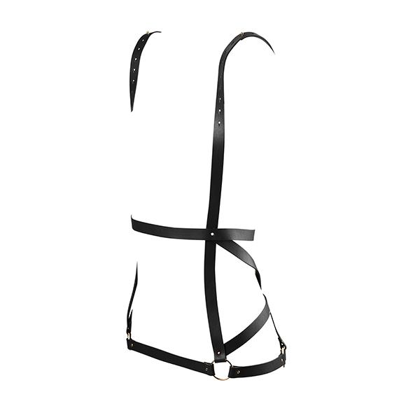 Bijoux Indiscrets - Maze Arrow Dress Harness Zwart Online Sexshop Eroware Sexshop Sexspeeltjes