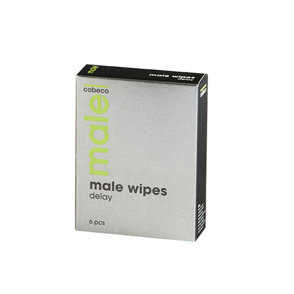 Male - Wipes Delay 6 x 2,5 ml Online Sexshop Eroware Sexshop Sexspeeltjes
