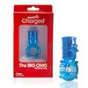 The Screaming O - Big OMG Vibrerende Ring Blauw Sexshop Eroware -  Sexspeeltjes