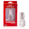 The Screaming O - Big OMG Vibrerende Ring Transparant Sexshop Eroware -  Sexspeeltjes