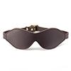 Coco de Mer - Leather Blindfold Bruin Sexshop Eroware -  Sexspeeltjes