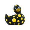I Rub My Duckie 2.0 | Happiness (Zwart & Geel) Sexshop Eroware -  Sexspeeltjes