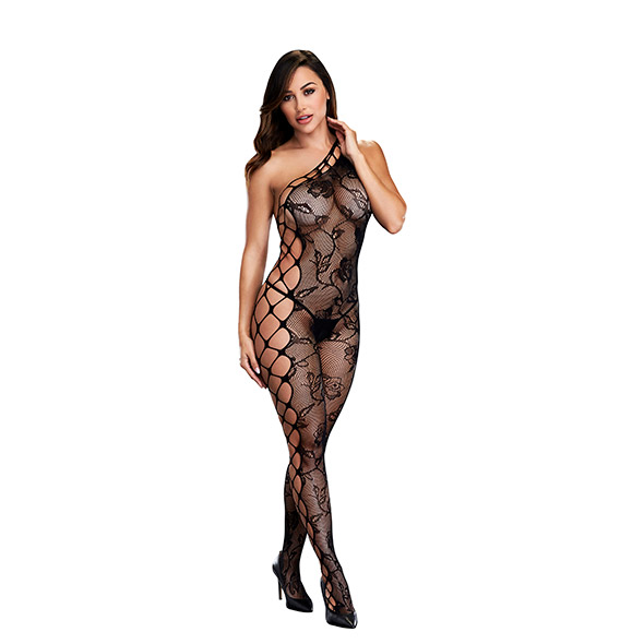 Baci - Off the Shoulder Bodystocking One Size Online Sexshop Eroware Sexshop Sexspeeltjes