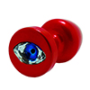Diogol - Anni R Oog Rood Crystal Rood 30 mm Sexshop Eroware -  Sexartikelen