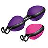 Joydivision - Joyballs Secret Set (Magenta & Zwart en Lila & Zwart) Sexshop Eroware -  Sexartikelen